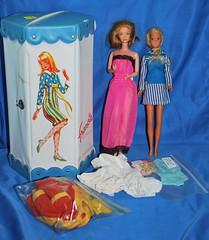 Doll Show Finds! (toomanypictures1) Tags: french mod kissing ken barbie disney case malibu suit kenner kira bathing fashionista finds francie goodwill sindy kristoff darci dollshow raquelle malibufrancie