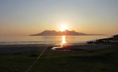 (Rodents rule) Tags: sunset island scotland highlands rum eigg bayoflaig