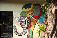 (by claudine) Tags: streetart elephant thailand architechture market bangkok culture nightmarket thai customs asiatique travelphotographyworldphotosuniquebyclaudine