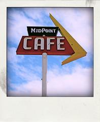 MIDPOINT CAFE (Leo Reynolds) Tags: polaroid fake faux phoney fakepolaroid fauxpolaroid poladroid phoneypolaroid xleol30x