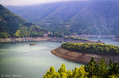 Beautiful views Vacha Dam, Central Rhodope (Toni Terziev) Tags: mountain mountains home beautiful landscape landscapes outdoor dam bulgaria rhodope 500px vacha