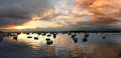 Evening sky......Explored. (cobby31 .) Tags: sunset june panoramic 2016 pooleharbour fz72