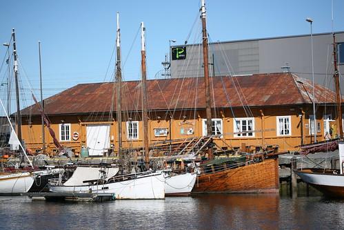 woodenboat sailingboat