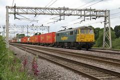 86632 Acton Bridge, Cheshire (DieselDude321) Tags: 86632 class 86 freightliner 4k64 1146 garston flt crewe basford hall ssm acton bridge cheshire
