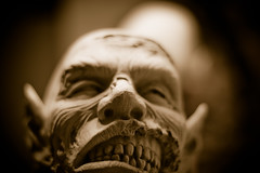 the face (chuckh6) Tags: face zombie monster cementhead
