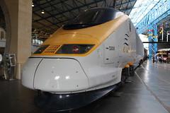 Eurostar Power Car 3308 17-06-2016 NRM.1 (routemaster2217) Tags: york train eurostar railway emu locomotive nrm nationalrailwaymuseum electricmultipleunit 3308 powercar class3732