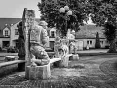 Torzym (peterpj) Tags: statue canon poland polska woodcarving g1x torzym