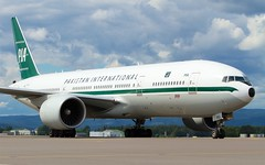 AP-BMG PIA Pakistan International Airlines Boeing 777-2Q8(ER) (Cato Lien) Tags: boeing pk pia osl gardermoen b777 engm b772 apbmg pakistanintarnationalairlines