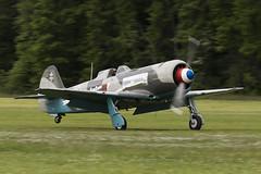 Let C-11 (Yak-11) - 7 (NickJ 1972) Tags: white les la aviation 14 des airshow temps let 2016 c11 yakovlev alais helices ferte yak11 faznn