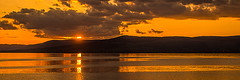 Journeys End (Brian Travelling Getty Contributor) Tags: sunset water silhouette scotland ayrshire firthofclyde sunsetsandsilhouettes