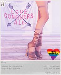 fri.day Harper.Clogs for the Pulse Fundraiser! (Darling Monday) Tags: friday maitreya thepulsefundraiser