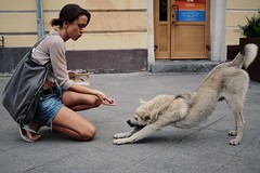 3/365. Feed the dog. (Jim35mm) Tags: russia moscow fujifilm 365 3365 365project x100s fujifilmx100s x100t
