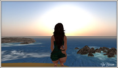 sunrise for a Kajira (giablossom) Tags: secondlife roleplay kajira goreancampus goreancampuschatter