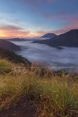 New Lights at Misty Valley (Pandu Adnyana Photography Tour) Tags: travel bali cloud mountain lake misty fog sunrise indonesia landscape tour foggy valley guide batur balitravelphotography baliphotographytour baliphotographyguide balilandscapetour balilandscapephotography