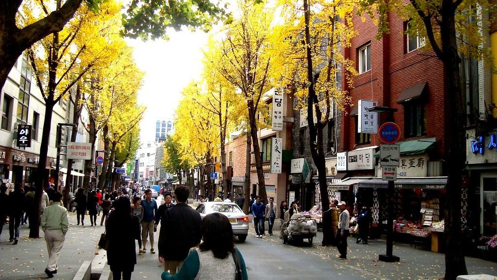 Kết quả hình ảnh cho phố đi bộ Insadong