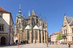 DSC_1172_sN (mkk3a) Tags: prague praha praga architektura gotyk czechy shiftn obróbka katedraśwwita