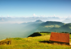 Mt. Rigi , Switzerland (ceca67) Tags: nature landscape switzerland cottage rigi kulm