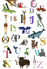 Alphabet Poster FlattenedResize (mwatson13) Tags: digital painting poster logo design graphic alphabet bookmark