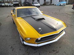 """1969  Ford Mustang Mach 1 • <a style=""""font-size:0.8em;"""" href=""""http://www.flickr.com/photos/85572005@N00/8750464937/"""" target=""""_blank"""">View on Flickr</a>"""