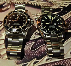 Icons. (czd72) Tags: omega nd vs rolex submariner smp 14060m 225450