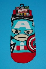 Marvel Universe Socks - Captain America (chujohime) Tags: marvel captainamerica avengers