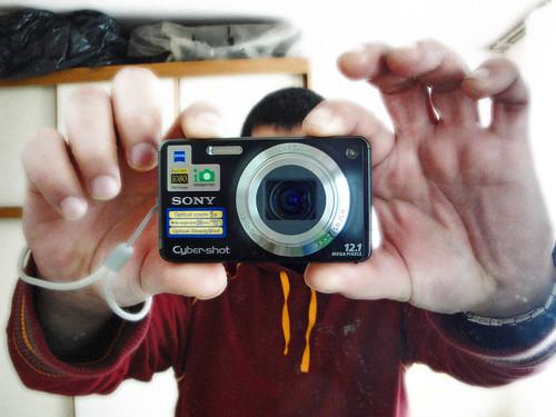 camera sony cybershot fotocamera