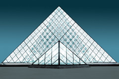 Crystal Cone (Philipp Gtze) Tags: paris museum architecture louvre