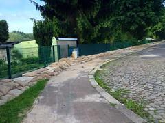 sandsackdeich oststraße (andithematti) Tags: alte elbe hochwasser iphone magdeburg oststrase werder