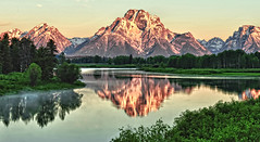 Iconic Oxbow (Jeff Clow) Tags: travel nature landscape bravo tetons grandtetonnationalpark oxbowbend jacksonholewyoming