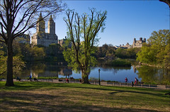 Central Park (Santa Cruiser) Tags: nyc newyorkcity lake san centralpark manhattan remo