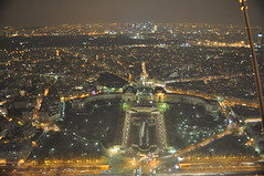 Palais de Chaillot from the Eiffel Tower, Paris