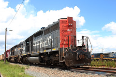 SP 7336... I mean HLCX 6341 Mulberry, FL (brickbuilder711) Tags: speed vintage power pacific florida storage southern sp lettering foreign rare helm mulberry leasing sd402 rentawreck hlcx