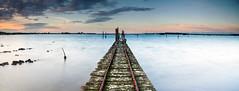 Taren Point (Kash Khastoui) Tags: sunset sea 2 seascape canon point mark sydney australia filter lee nsw nd 5d kash taren khashayar khastoui
