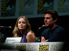 Edge of Tomorrow panel (Natasha Baucas) Tags: tomcruise comiccon chrishardwick billpaxton dougliman 2013 emilyblunt edgeoftomorrow