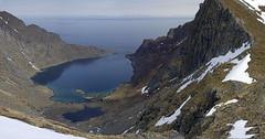 Djupfjorden (Twilight Tea) Tags: panorama norway trekking may lofoten munken 2013 djupfjorden