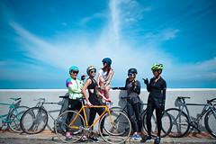 DSC_1752 (Ellen.B Chang 大大兒) Tags: girl bike bicycle nikon taiwan gear 基隆 fixed fixie taipei 28 2470mm fggt d700
