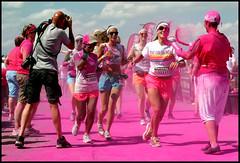 Color run Utrecht (Bartistuta) Tags: pink color colour utrecht run rennen leidscherijn roze kleur colorrun colorrunutrecht
