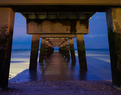 beach pier fishingpier woodlandbeach slicesoftime... (Photo: PIPA Fine Art - Nature and Landscape Photography on Flickr)