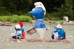 Touskiflot 2013 (digitalO) Tags: france eau kayak canoe rafting pau gave berges pyrnes bearn lons aquitaine embarcation gavedepau radeau touskiflot laroin billre lolagrange jeuxnautiques