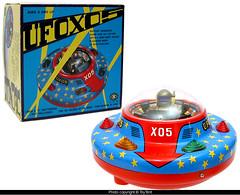 UFO X05 Space Ship (toytent) Tags: ufo spaceship vintagetoy spacetoy masudaya moderntoys batterytoy ufox05 toytent3625