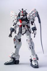 MG Gundam Sandrock Endless Waltz ver (KayOne73) Tags: macro lens toy japanese robot nikon wing hobby mg plastic f micro figure kit 28 60mm nikkor custom gundam product mecha bandai 1100 gunpla sandrock d600