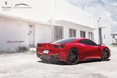 Ferrari 458   Vellano VCX Standard (Vellano Forged Wheels) Tags: auto cars wheels ferrari rims forged vellano ferrari458 vellanowheels