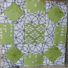 Landmdel Quilt-Along (monaw2008) Tags: handmade fabric blocks patchwork monaw monaw2008 landmdelquiltalong farmerswifequilt