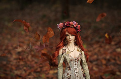 Walking Autumn (AyuAna) Tags: ball design doll eid luna bjd dollfie jointed iplehouse ayuana
