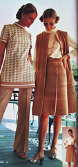 Wards 71 ss tan (jsbuttons) Tags: 1971 buttons tan skirt 71 womens clothes catalog seventies wards vintageclothing vintagefashion buttonfront