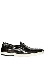 JIMMY CHOO  BRUSHED LEATHER SLIP ON SNEAKERS (zavertiose) Tags: winter men fall leather shoes jimmy sneakers choo slip brushed 2013 jimmychoobrushedleathersliponsneakersfallwinter2013menshoessneakers