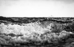 Dark Water [14] (gaetanocessati) Tags: sea blackandwhite bw abstract love water silver freedom agua surf waves emotion fineart shapes highcontrast textures darkwater emotions acqua gaetanocessati