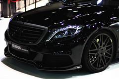B50 (  Musfirs) Tags: black dubai uae autoshow arab german mercedesbenz arabia matte motorshow brabus dxb v12 sclass b50 brabusb50 sclass20142014