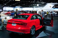 Audi S3 (jbp274) Tags: cars sedan losangeles display autoshow a3 audi s3 automobiles carshow