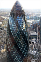 London - detail (Katarina 2353) Tags: street city uk trip travel autumn vacation panorama streets london architecture canon buildings photography photo cityscape view unitedkingdom outdoor 30stmaryaxe katarinastefanovic katarina2353